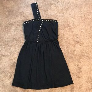 Rachel Roy Black Studded Dress. Never Worn!